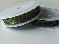 Проволока 0,3 мм зеленая