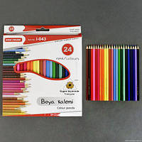 Цветные карандаши (24 цвета) 0681 sco