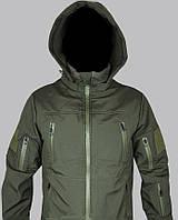 Куртка штормовая Soft-Shell (олива)