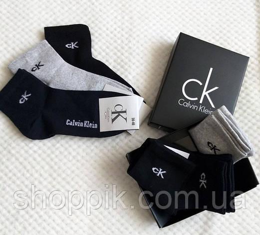 Носки Calvin Klein унисекс 3 пары в подарочной упаковке ., фото 2