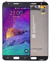 Модуль Samsung SM-G610F Galaxy J7 Prime black с регулируемой подсветкой дисплей экран, сенсор тач скрин Самсунг