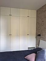 Шкаф в скандинавском стиле белый с фасадами мдф белый, фото 1