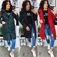 Куртка женская длиная Мод. 211, фото 1