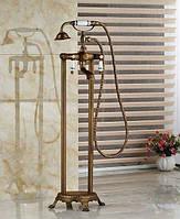 Смеситель для ванны напольный DECO Y03-C11 Бронза, фото 1