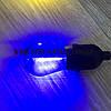 Світлодіодна лампочка синя, 1Вт S14 Е27 для вуличних гірлянд