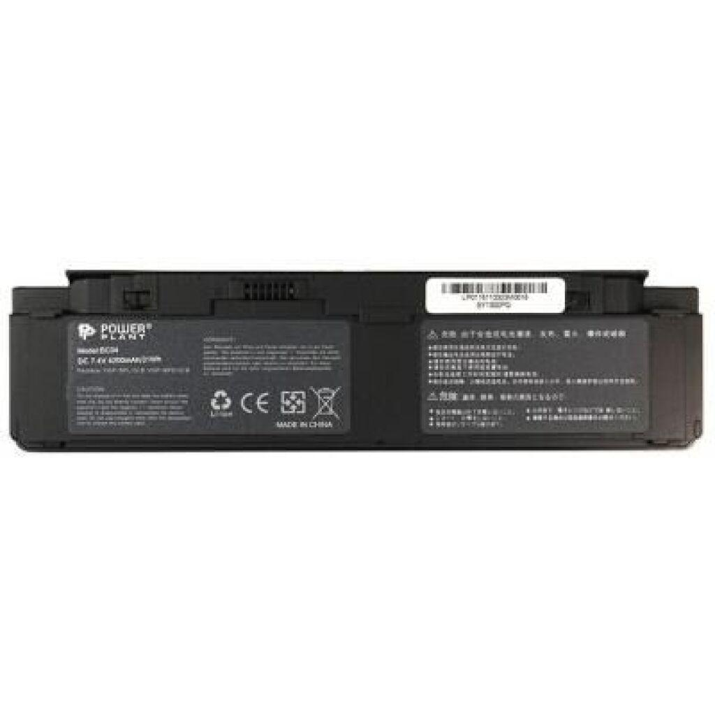 Аккумулятор для ноутбука SONY VAIO VGP-BPL15/B (VGN-P31ZK/R) 7.4V 4200mAh PowerPlant (NB520053)