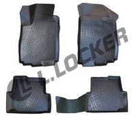 Коврики в салон Chevrolet Aveo II (12-) (полимерные) L.Locker, фото 1