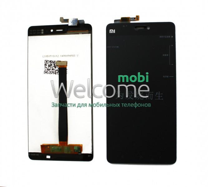 Модуль Xiaomi Mi 4s black дисплей экран, сенсор тач скрин Сяоми Ксиоми