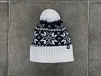 Зимняя шапка (с помпоном) Staff - Art. SS0015