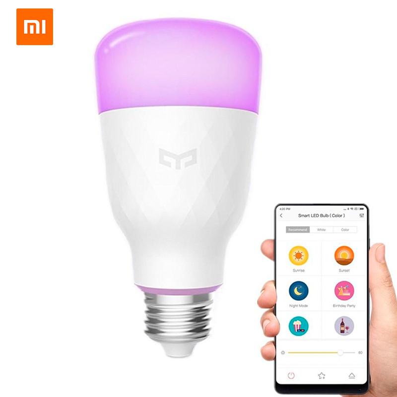 Умная лампа Xiaomi Yeelight Smart LED Bulb YLDP06YL Color v2 (DP0060W0CN)