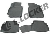Коврики в салон Chevrolet Lacetti (04-) (полимерные) L.Locker
