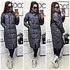 Теплое пальто  с карманами  синтепон 200