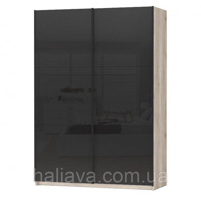 Шкаф Colin 153 Black Red White 153х218.5x60 (Colin_F24/153) 066218, фото 1