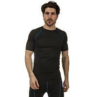 Компрессионный комплект белья мужской (футболка с коротким рукавом и шорты) LD-1103-LD-1502-B