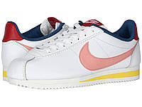 Кроссовки/Кеды Nike Classic Cortez Leather Summit White/Coral Stardust/Gym Red