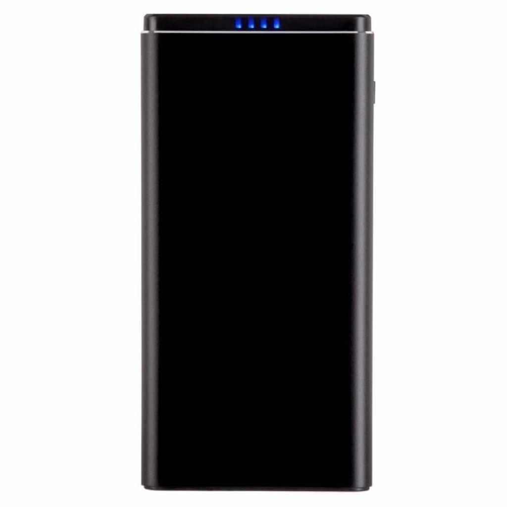 Батарея универсальная 2E 10000мА/ч, DC 5V, USB-2.1A, MicroUSB, Light. Inp, Allum (2E-PB1010A-BLACK)