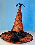 Шляпа карнавальная с розой и пером Цвета разные, фото 9