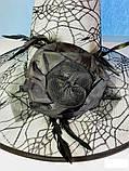 Шляпа карнавальная с розой и пером Цвета разные, фото 10