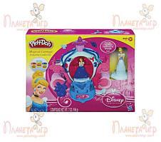 Набор для лепки Play-Doh Disney. Волшебная карета Золушки (РК-718052)
