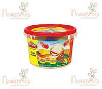 """Набор для лепки Play-Doh. Ведёрко с формочками """"Пикник"""" (РК-718056)"""
