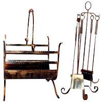 Набор каминных инструментов корзина для дров 101