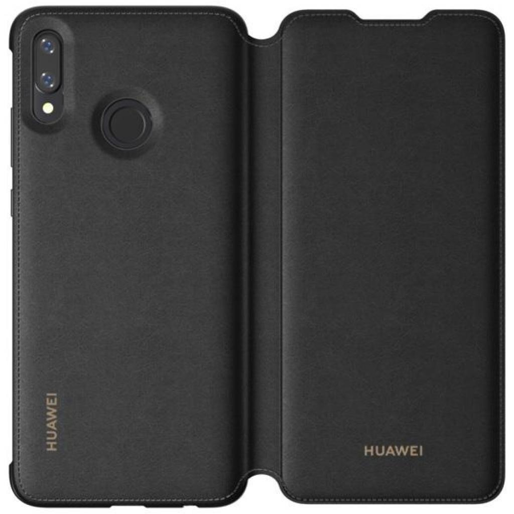 Чехол для моб. телефона Huawei для P Smart 2019 Flip Cover Black (51992830)
