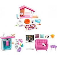 Набор мебели и аксессуаров для дома Barbie (в асс.)