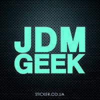 "Наклейка на авто ""JDM GEEK"""