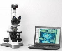 Биологический микроскоп MCX100 CROCUS С возможностью подключения к персональному компьютеру