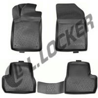 Коврики в салон Citroen C3 mkII hatchback (09-) (полимерные) L.Locker