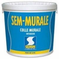 SEMIN SEM-MURALE ТМ Клей готовый для стекло обоев и ткани, 10 кг