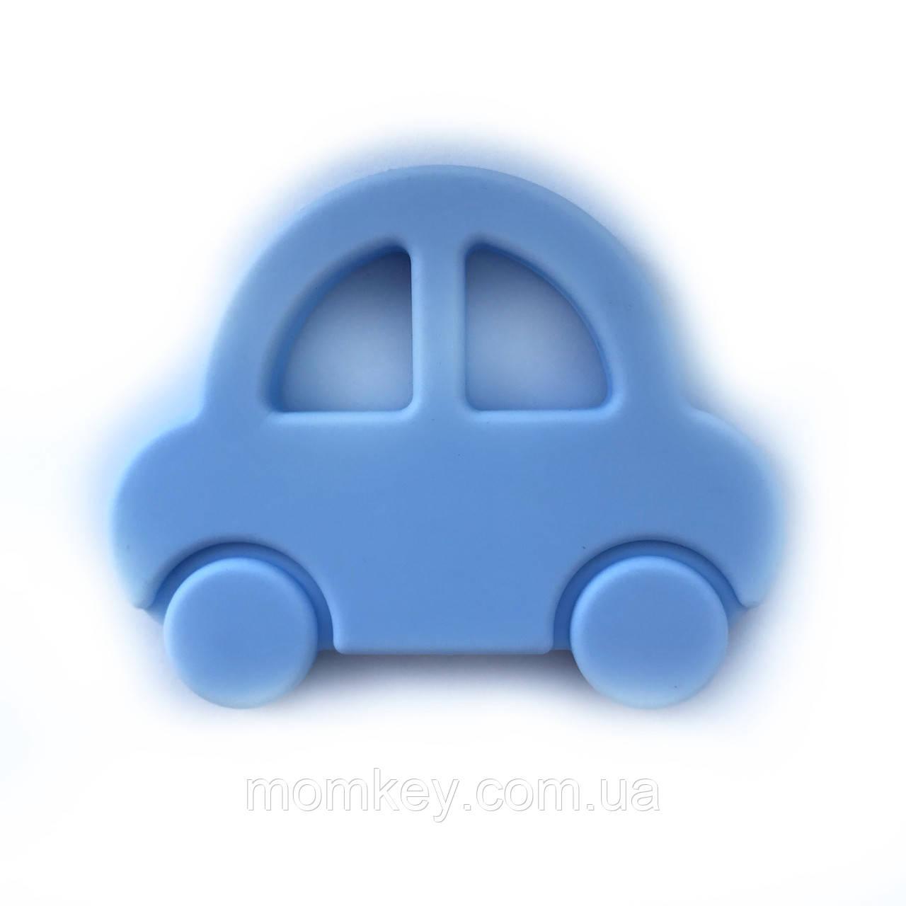 Машинка 2 (пастельно-голубая)
