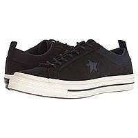 Кроссовки Converse One Star - Ox Black/Almost Black/Black - Оригинал