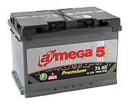 Аккумулятор A-MEGA 6CT-74 АЗ (0) Premium