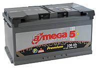 Аккумулятор A-MEGA 6СТ-100 АзЕ Premium AP-100-0