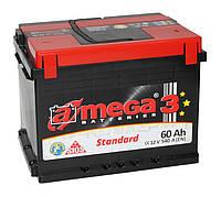 Аккумулятор A-MEGA 6СТ-60 АЗ (1) Standard