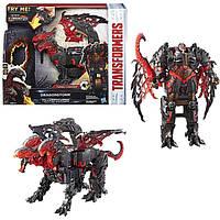 Робот-трансформер, Дрейгонсторм, в 1 шаг-Transformers,Hasbro,The Last Knight,Dragonstorm,Turbo Change - 156194