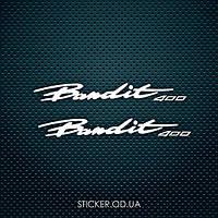 "Набор наклеек ""Suzuki Bandit 400"" 2шт."