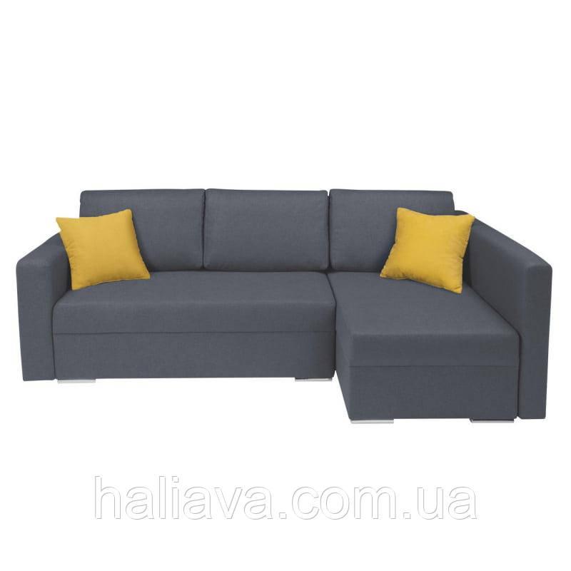 Угловой диван Kris II LUX 3DL.URC BRW Sofa 230х89x146 (KRIS_II_LUX_3DL.URC) 011168, фото 1