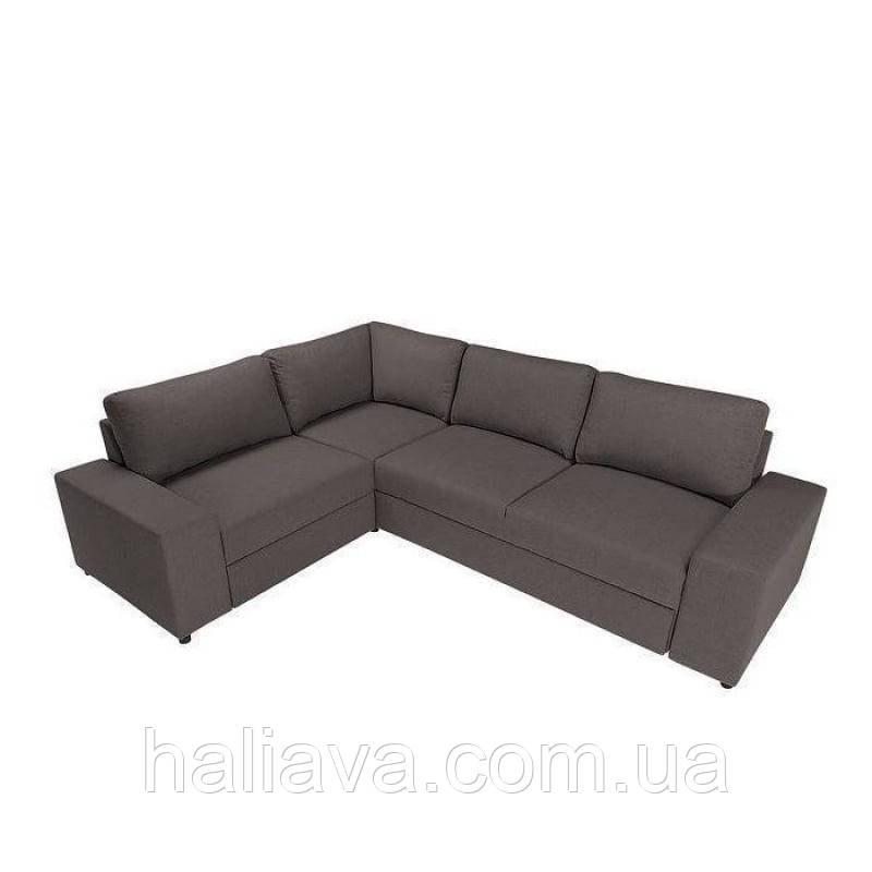 Угловой диван Liam BRW Sofa 284х89x214 (LIAM_P_1.5BK_E_2F_P) 016436, фото 1
