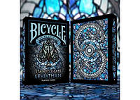 Карты игральные Bicycle Stained Glass Leviathan (РК-719077)