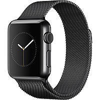 Apple Watch Series 3 GPS + Cellular 38mm Space Black Stainless Steel with Space Black Milanese Loop (MR1H2)