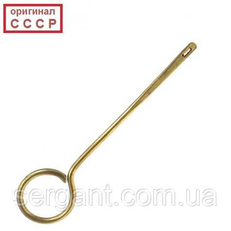 Ранняя латунная протирка (шомпол) для пистолета ТТ и Нагана (оригинал СССР)