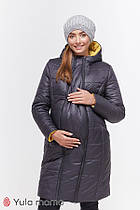 Зимнее пальто для беременных Юла Mama Mariet OW-49.041