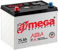 Аккумулятор A-MEGA 6СТ-75 АзЕ ASIA