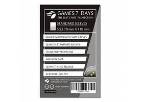 Протекторы для карт Games7Days (70 х 110 мм, Magnum Ultra-Fit, 100 шт.) (STANDART) (РК-719250)
