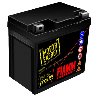 Мотоаккумулятор FIAMM 6Ah 75А FTX7L-BS