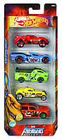 Машинки Хот Вилс Марвел Мстители Hot Wheels Avengers Assemble Mattel FRN41