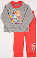 Спортивный костюм для девочки Zironka фиксики красный 105