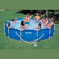 Каркасный бассейн Intex, 28212 (56996) (366*76 см) с фильтр-насосом